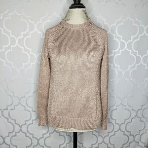 J. Crew Metallic Knit Sweater